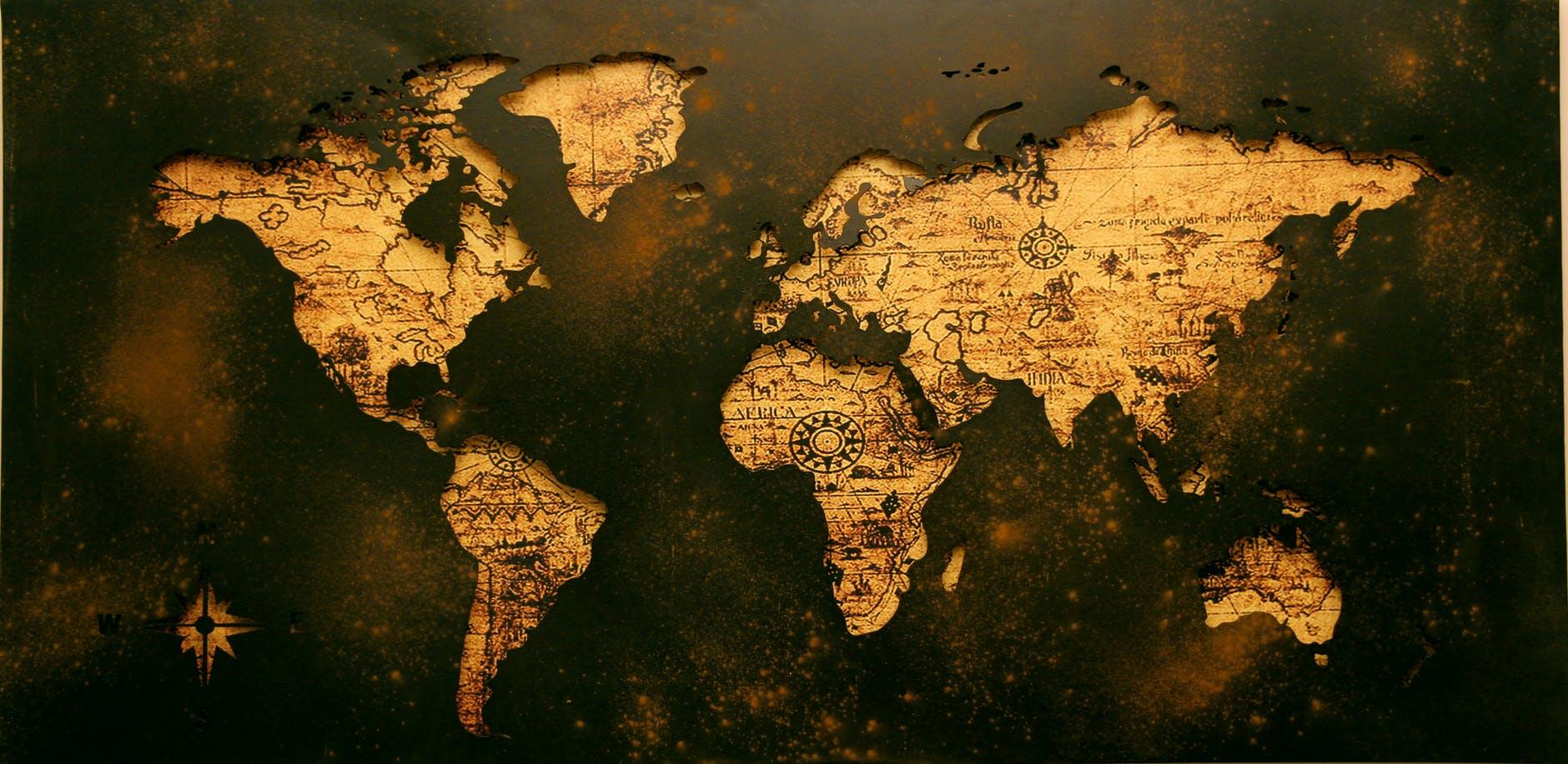 Die ganze Welt mit uns erkunden